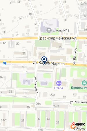 АГЕНТСТВО НЕДВИЖИМОСТИ АЛБО на карте Невьянска