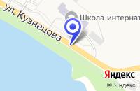 Схема проезда до компании КОРРЕКЦИОННАЯ ШКОЛА-ИНТЕРНАТ в Карабаше