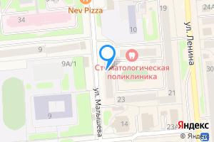 Однокомнатная квартира в Невьянске улица Малышева, 12