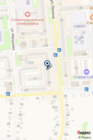 МАГАЗИН БРИЛЛИАНТ на карте Невьянска