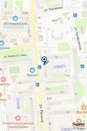 АПТЕЧНЫЙ ПУНКТ N 2 на карте Невьянска