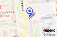 Схема проезда до компании КАФЕ СИМБА в Невьянске