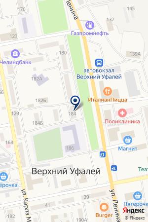 МАГАЗИН ФОБОС на карте Верхнего Уфалея