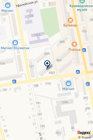 ГАЗЕТА УФАЛЕЙСКАЯ ЯРМАРКА на карте Верхнего Уфалея