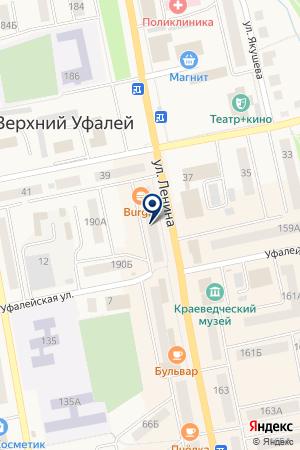 СТРАХОВАЯ КОМПАНИЯ ЮЖУРАЛ-АСКО (ФИЛИАЛ) на карте Верхнего Уфалея