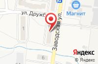 Схема проезда до компании Уральский банк Сбербанка России в Исети