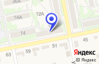 Схема проезда до компании МАГАЗИН РАДУГА в Чебаркуле