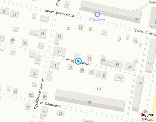 Управляющая компания «Ивдель» на карте Ивделя