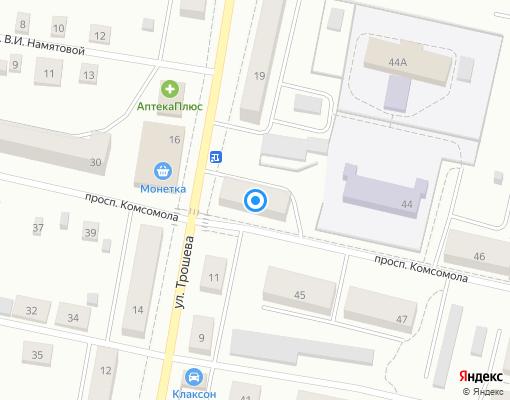 Управляющая компания «Городская УК» на карте Ивделя