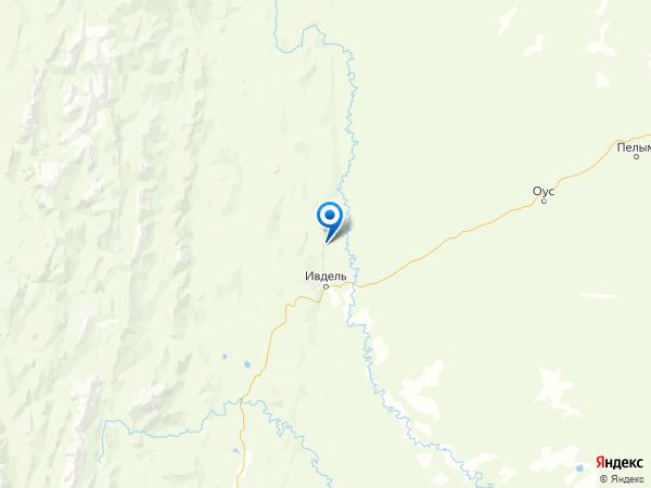 поселок Подгорный на карте