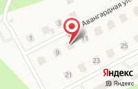 Схема проезда до компании Западный берег в Среднеуральске