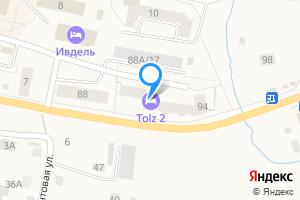 Двухкомнатная квартира в Ивделе Данилова 90