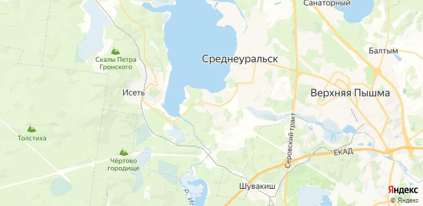 Коптяки на карте