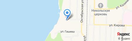 Центральная городская библиотека на карте Среднеуральска