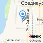 Софья на карте Среднеуральска