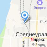 Виктория на карте Среднеуральска