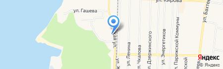 Нега на карте Среднеуральска