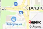 Схема проезда до компании Парикмахерская в Среднеуральске