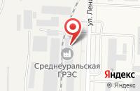 Схема проезда до компании Amigo в Среднеуральске
