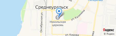 Церковная лавка на карте Среднеуральска