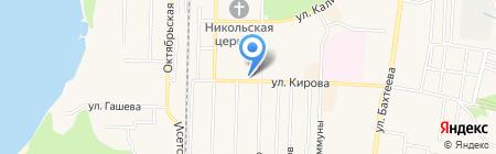 Уральский банк Сбербанка России на карте Среднеуральска
