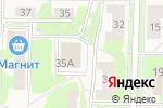 Схема проезда до компании Bella в Среднеуральске