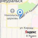 Кабinet на карте Среднеуральска