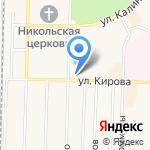 Мастерская бытовых услуг на карте Среднеуральска