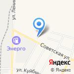 Золотая пинта на карте Среднеуральска