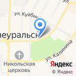Управление культуры и молодежной политики на карте Среднеуральска