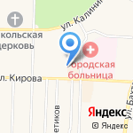 Amigo на карте Среднеуральска