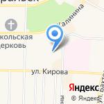Незабудка на карте Среднеуральска