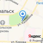 Волна на карте Среднеуральска