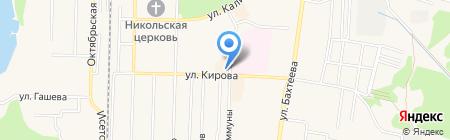 Живика на карте Среднеуральска