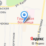 Киоск по продаже фруктов и овощей на карте Среднеуральска