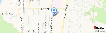 Мастерская по ремонту часов на карте Среднеуральска