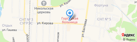 Поликлиника на карте Среднеуральска