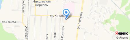 Солнышко на карте Среднеуральска