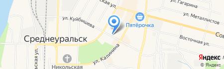 Банкомат УралТрансБанк на карте Среднеуральска