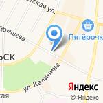 Магазин по продаже фастфудной продукции на карте Среднеуральска