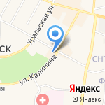 ВИКА на карте Среднеуральска