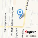 Золотой петушок на карте Среднеуральска
