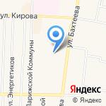 Городская библиотека на карте Среднеуральска