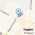 Банкомат на карте Среднеуральска