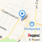 Центральный на карте Среднеуральска