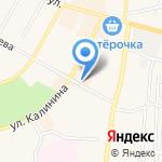 Модный уголок на карте Среднеуральска
