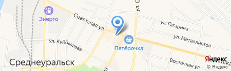 МТС на карте Среднеуральска