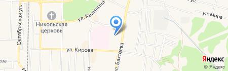 Начальная общеобразовательная школа №5 на карте Среднеуральска