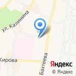 Средняя общеобразовательная школа №6 с углубленным изучением отдельных предметов на карте Среднеуральска