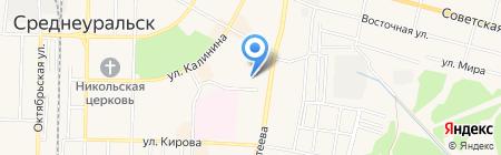 ЭЛТМА на карте Среднеуральска